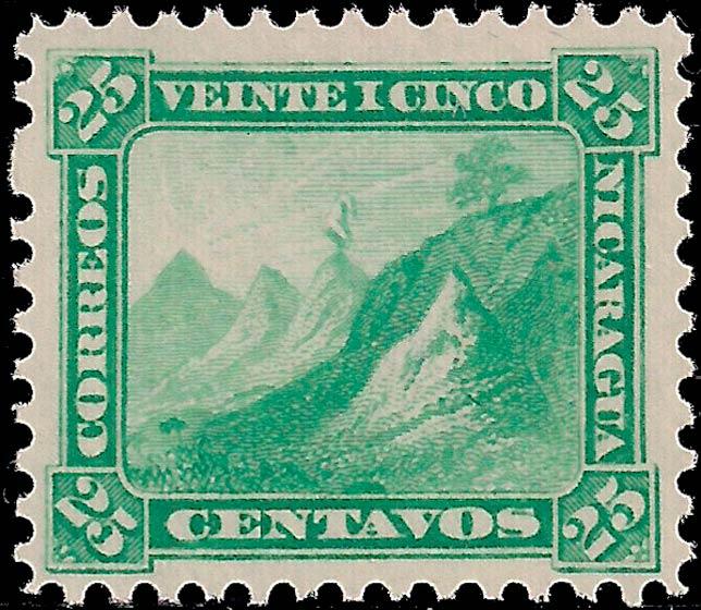 Nicaragua_1862-1880_Liberty_Cap_25c_Genuine