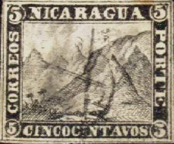 Nicaragua_1862-1880_Liberty_Cap_5c_Forgery