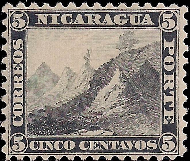Nicaragua_1862-1880_Liberty_Cap_5c_Genuine