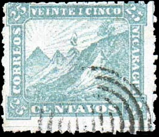 Nicaragua_1869-1880_Liberty_Cap_25c_Forgery