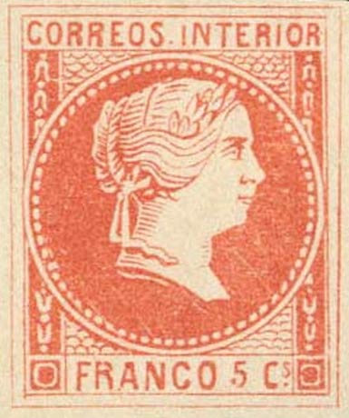 Philippines_1859_Queen_Isabella_5c_Forgery3