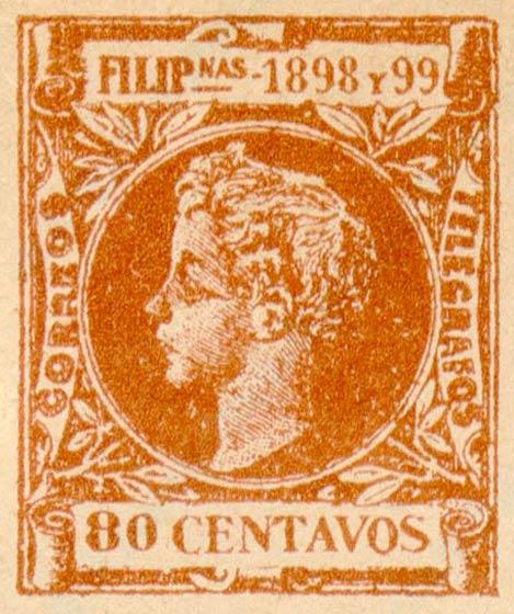 Philippines_1898_80_Centavos_Fournier_Forgery