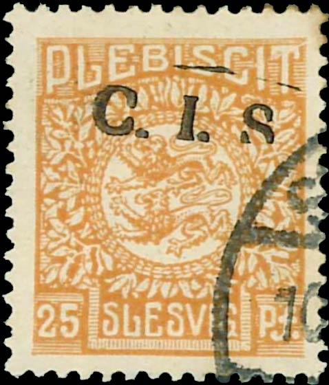 Slesvig_1920_Official_25pf_CIS_Forgery