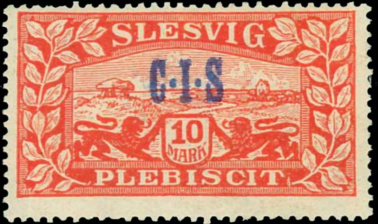 Slesvig_Plebiscit_1920_10mark_CIS_Overprint_Forgery