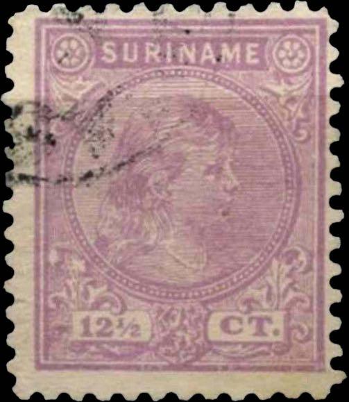 Surinam_1893_Queen_Wilhelmina_12-5c_Pasche_Forgery