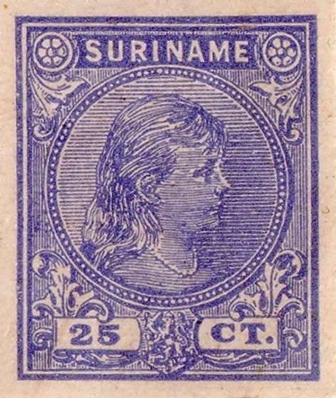 Surinam_1893_Queen_Wilhelmina_25c_Forgery2