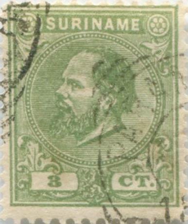 Suriname_1873-1875_King_Wilhelm_III_3c_Forgery