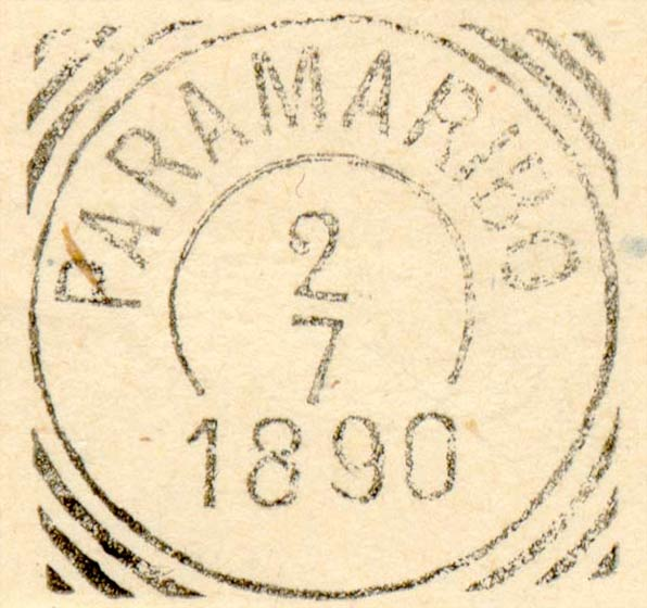 Suriname_Fournier_Forged_Postmark