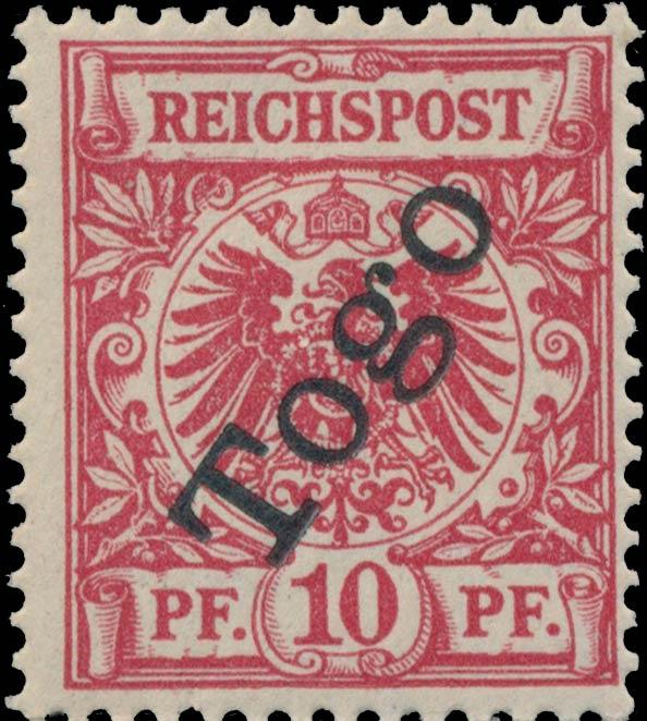 Togo_1897_Reichpost_Togo_10pf_Genuine