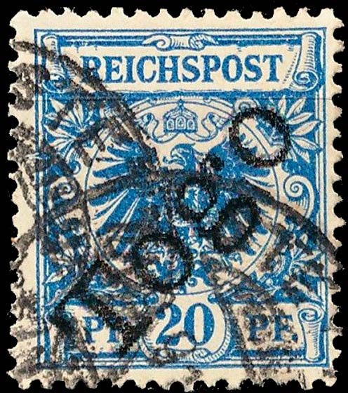 Togo_1897_Reichpost_Togo_20pf_Forgery2