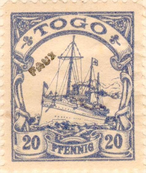 Togo_20pfennig_Fournier_Forgery