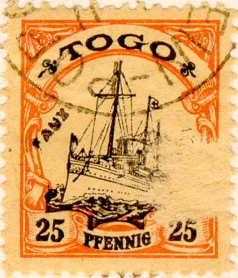 Togo_25pfennig_Fournier_Forgery