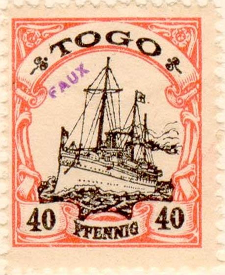 Togo_40pfennig_Fournier_Forgery