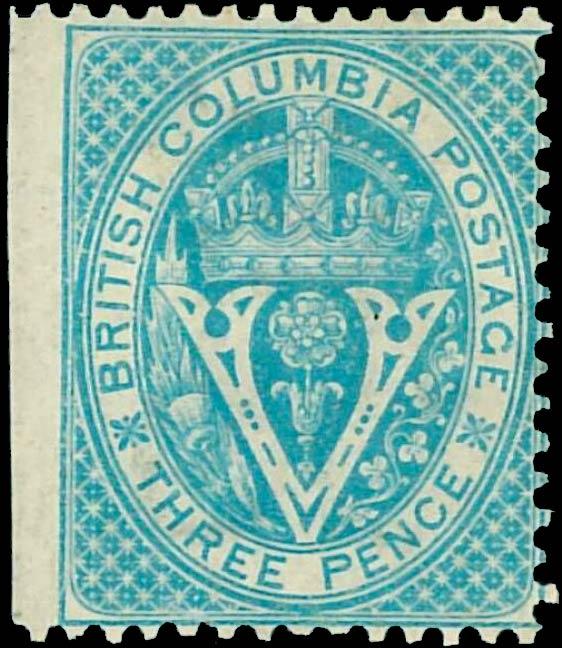 British_Columbia_1865_3p_Genuine