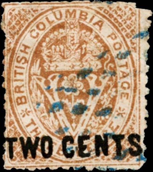British_Columbia_1868_2c_Spiro_Forgery_Type2