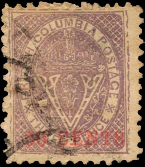 British_Columbia_1869_50c_Spiro_Forgery