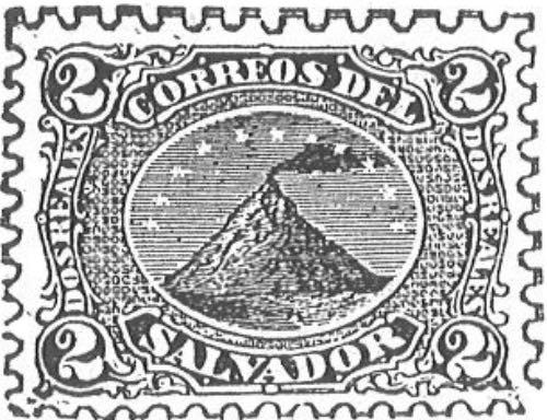 El_Salvador_Volcano_Dos_reales_Torres_illustration
