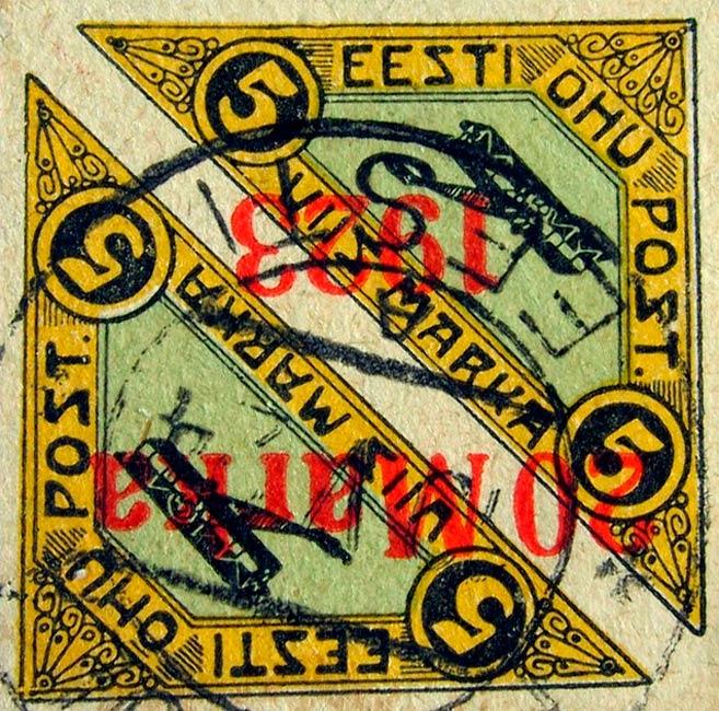 Estonia_1920-1923_Airmail_20m_Forgery1