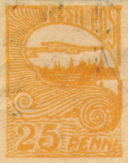 Estonia_1920-1924_Skyline_25p_yellow_Lubi_Forgery