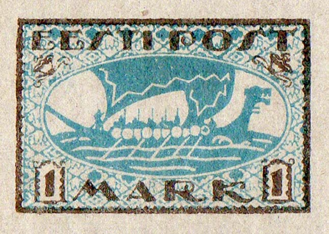 Estonia_1920_Viking_Ship_1m_Genuine
