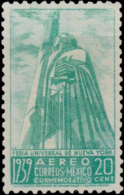 Mexico_1939_New_York_20c_Forgery