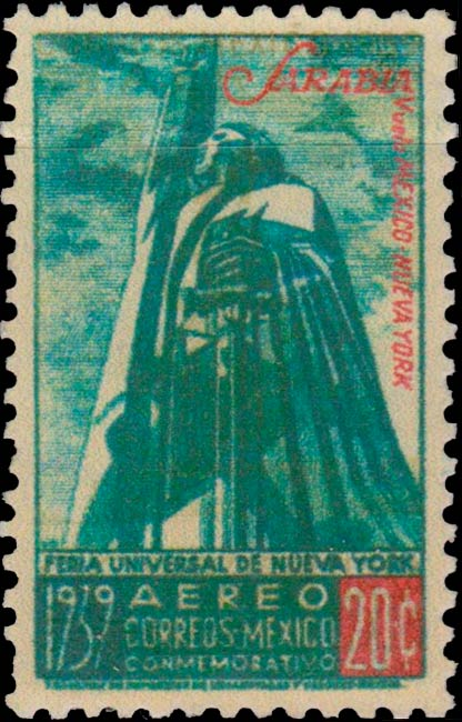 Mexico_1939_New_York_20c_Forgery2
