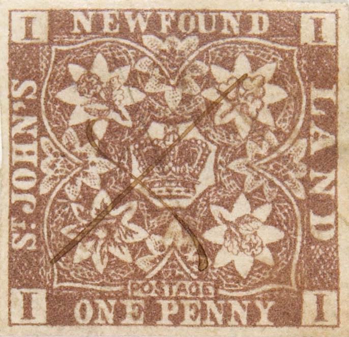 Newfoundland_1857_1p_Spiro_Forgery1