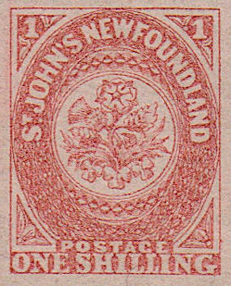 Newfoundland_1857_1s_Forgery