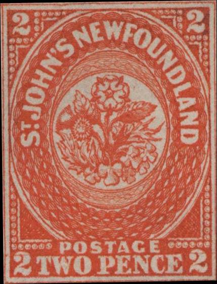 Newfoundland_1857_2p_Genuine