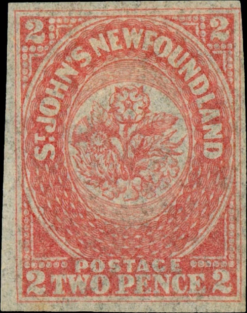Newfoundland_1857_2p_Genuine2