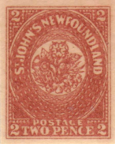 Newfoundland_1857_2p_Oneglia_Forgery
