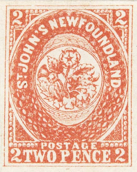 Newfoundland_1857_2p_Spiro_Forgery