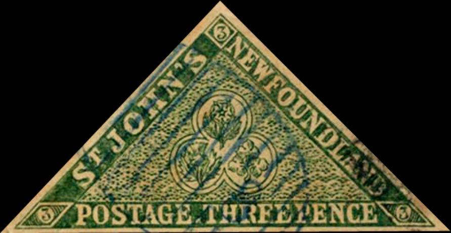 Newfoundland_1857_3p_Triangle_Forgery