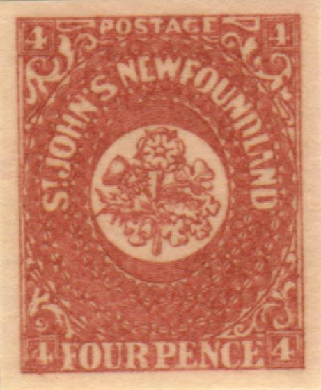 Newfoundland_1857_4p_Oneglia_Forgery