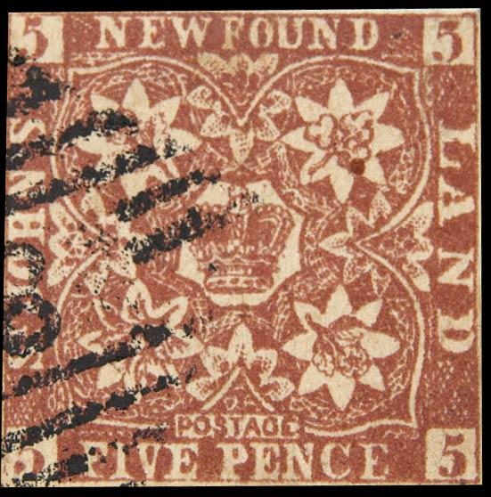 Newfoundland_1857_5c_Spiro_Forgery2
