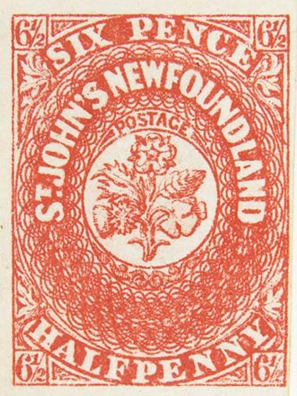 Newfoundland_1857_6halfp_Sperati_Forgery