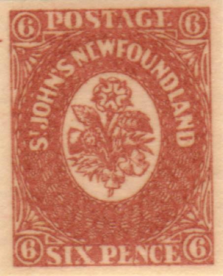 Newfoundland_1857_6p_Oneglia_Forgery