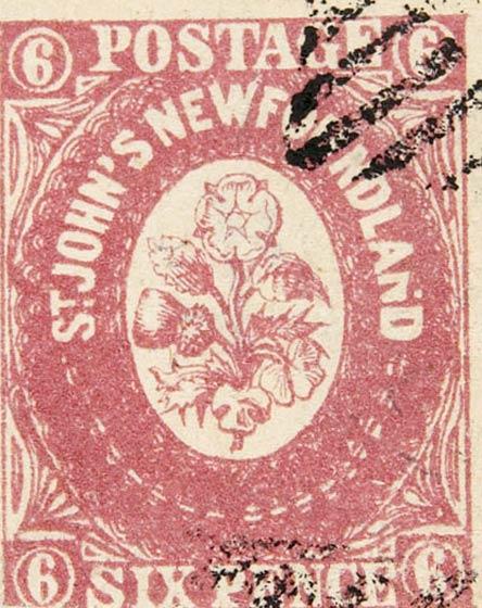 Newfoundland_1857_6p_Spiro_Forgery