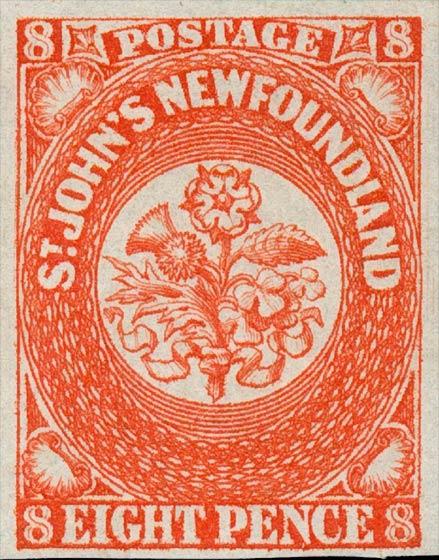 Newfoundland_1857_8p_Genuine
