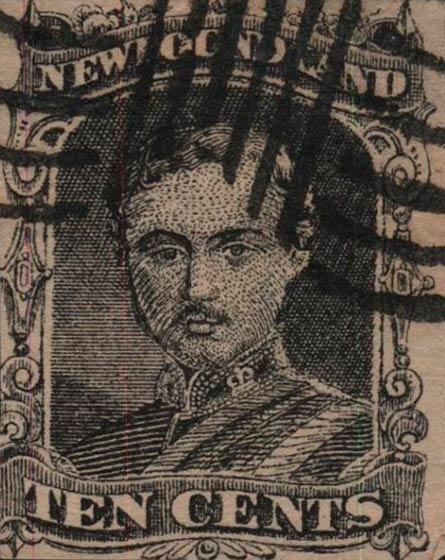 Newfoundland_1866_10c_Forgery