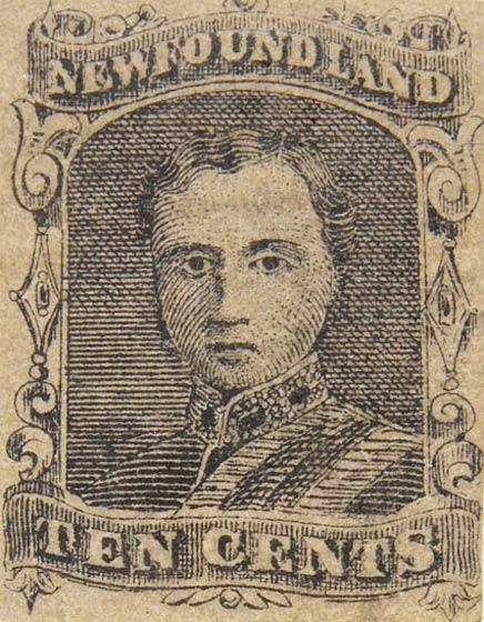 Newfoundland_1866_10c_Fournier_Forgery
