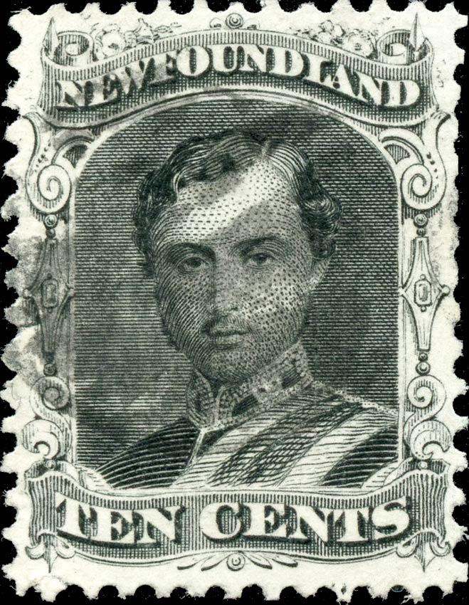 Newfoundland_1866_10c_Genuine