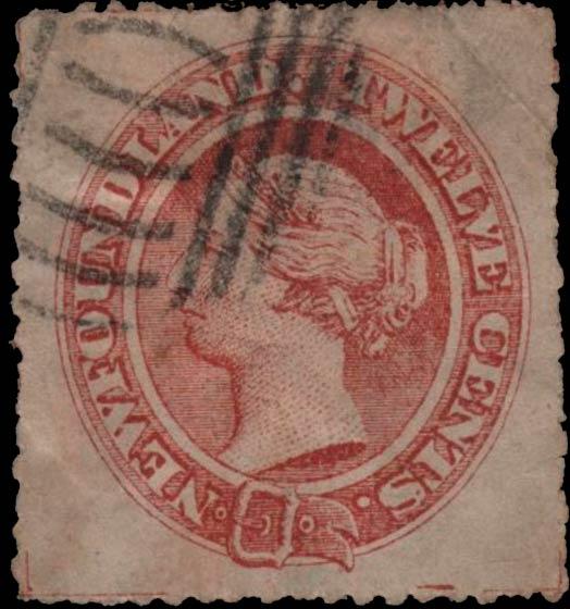 Newfoundland_1866_QV_12c_Forgery