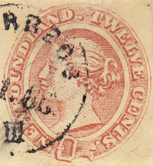 Newfoundland_1866_QV_12c_Fournier_Forgery