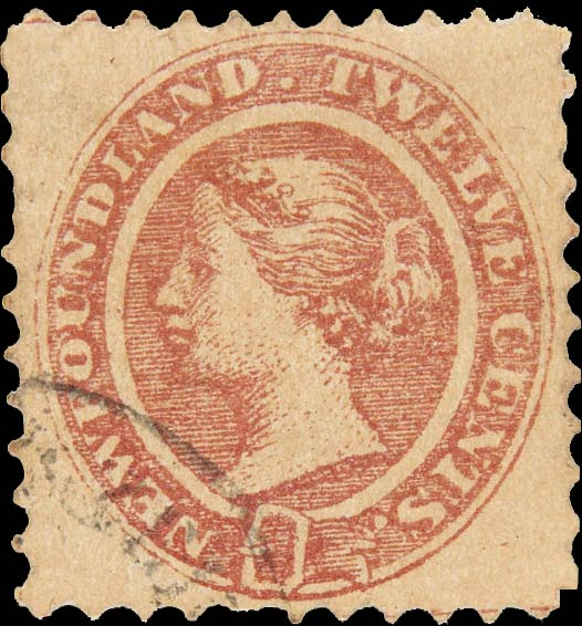 Newfoundland_1866_QV_12c_Fournier_Forgery2