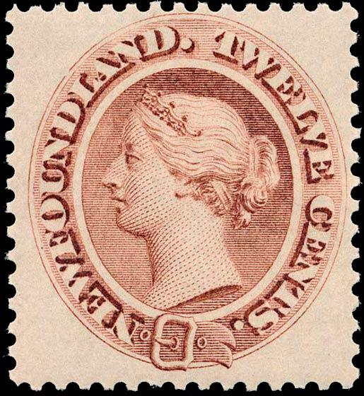 Newfoundland_1866_QV_12c_Genuine