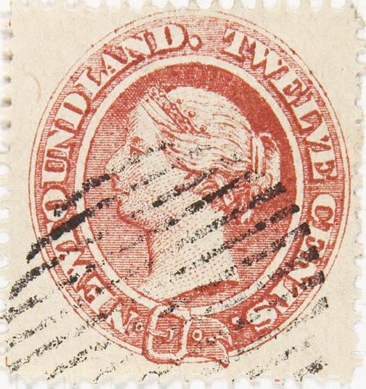 Newfoundland_1866_QV_12c_Spiro_Forgery