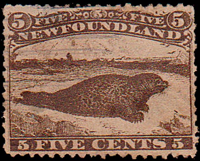 Newfoundland_1866_Seal_5c_Forgery