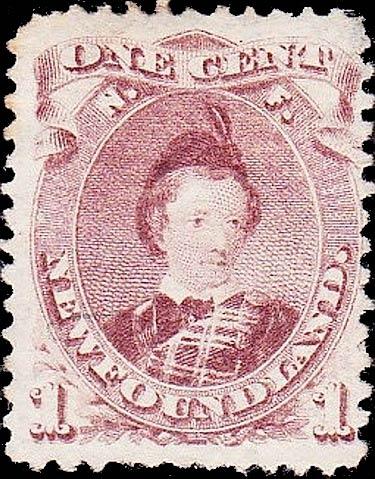Newfoundland_1868_Prince_1c_Forgery