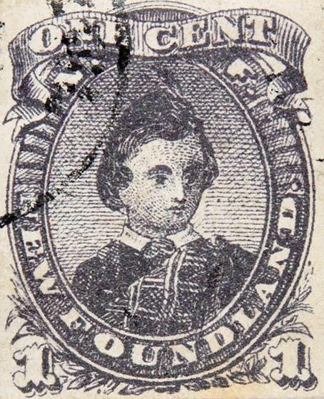 Newfoundland_1868_Prince_1c_Spiro_Forgery